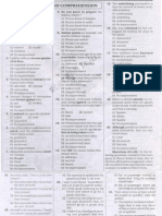 SSC CGL 2010 Solved Paper Tier 20001
