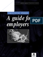 Legionnaires a Guide for Employers