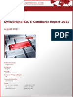 Brochure & Order Form_Switzerland B2C E-Commerce Report 2011_by yStats.com