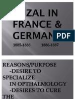 Rizal in France & Germany