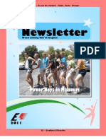 Newsletter Week 8 2011