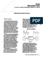 DSP Filter Aplication
