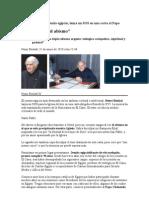 Henri Boulad, un jesuita egipcio, lanza un SOS en una carta al Papa