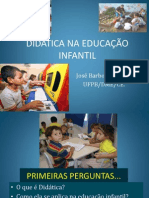 Didatica Na Educacao Infantil