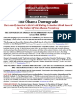 The Obama Downgrade