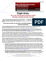 Flight Risks