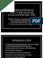 TEST Y ESCALAS DE EVALUACIÓN DEL TOC