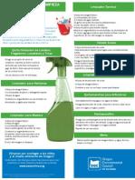 Recetario de Productos Ecologicos Para Limpieza