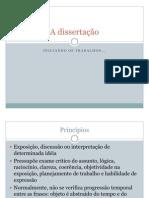A dissertação