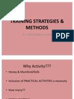 Training Strategies & Methods