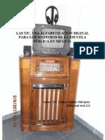 LAS TIC, UNA ALFABETIZACIÓN DIGITAL PARA LOS MAESTROS DE LA ESCUELA PÚBLICA EN MÉXICO.