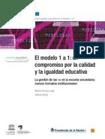 (2011) El modelo 1 a 1