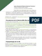 Enterocolitis Necrotizante y Alimentación Enteral en Neonatos Prematuros