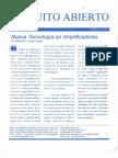 Circuito Abierto- Nueva Tecnología en Amplificadores
