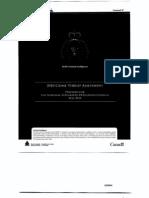 RCMP Crime Threat Assessment