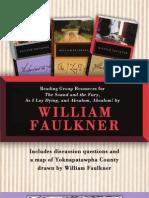 William Faulkner Reading Group Resources