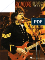 Gary Moore - Greatest Hits Full Band Score