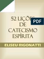 52 LIÇÕES DE CATECISMO ESPÍRITA
