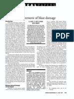 Scoble - Measurement of Blast Damage