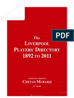 The Liverpool Players Directory 1892 to 2011 preview