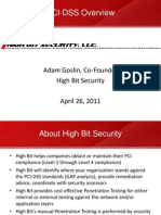 PCI Compliance Overview