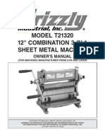 3in1 Sheet Metal Tool