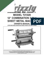3in1 Sheet Metal Tool