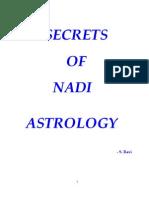 Secrets of Nadi Astrology