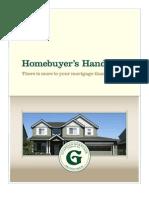 Guardian Mortgage's Home Buyer's Handbook