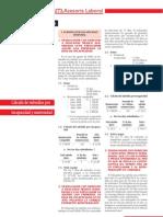 Cálculo de Subsidios por Incapacidad y Maternidad - ECB Laboral