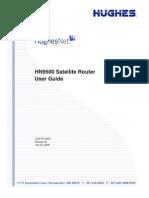HughesNet HN9500 Satellite Router User Guide
