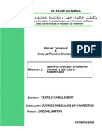 m01 - Identification Des Differentes Supports Textiles Et Des Fournitures Th-osc
