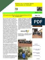 EL  BOLETIN  edición   N°  34  Agosto    AÑO  2011