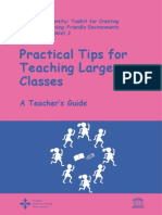 Teaching Large Classes