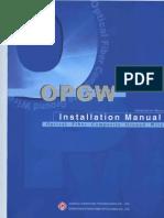 OPGW Installation Manual