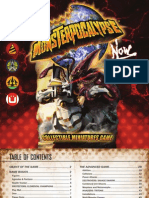 Monsterpocalypse Now Rulebook