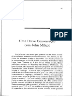 Entrevista a Jhon Milnor