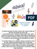 Apresentação PP - Música