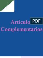 Forensis 2010 - Articulos Complementarios