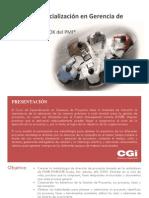 Curso de Especializacion en Gerencia de Proyectos PMI