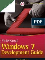 Win7 Development Guide
