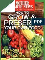 MEN - How to Grow & Preserve Your Own Food (Men - 2010)