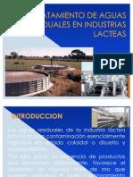 TRATAMIENTO DE AGUAS RESIDUALES - LACTEOS