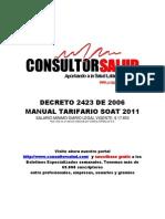 Manual Tarifario SOAT 2011(2)