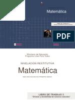"""LIBRO DE TRABAJO 3 """"División y divisibilidad de números naturales"""""""