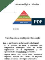 MERCADEO ESTRATEGICO Planeacion Estrategica Mdeo I