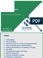 FORO ISO 31000 Gestion de Riesgo