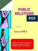 Marketing-public relations