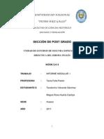 Informe modular número I