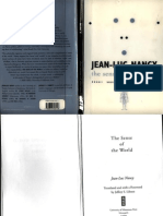 Jean-Luc Nancy - The Sense of the World